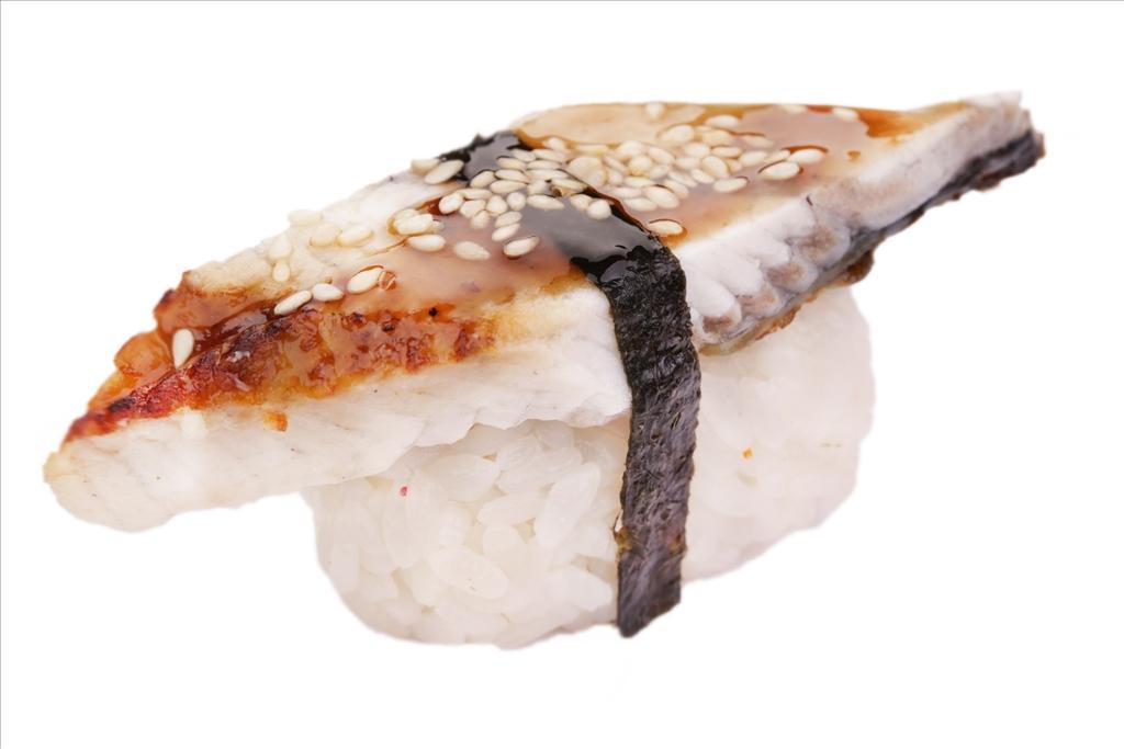 Спайси суши угорь