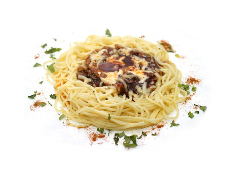 Спагетти Обед лесника