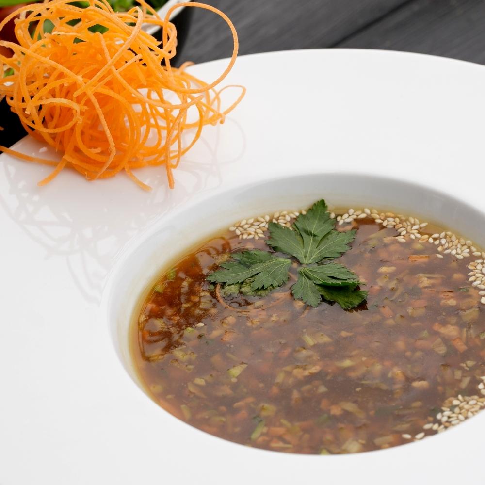 Индийский суп с ягненком