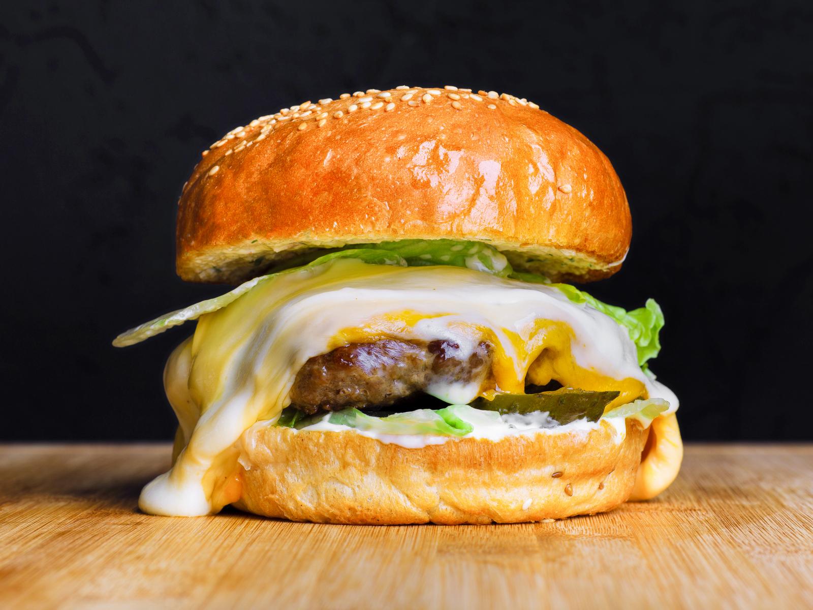 Бургер Три сыра