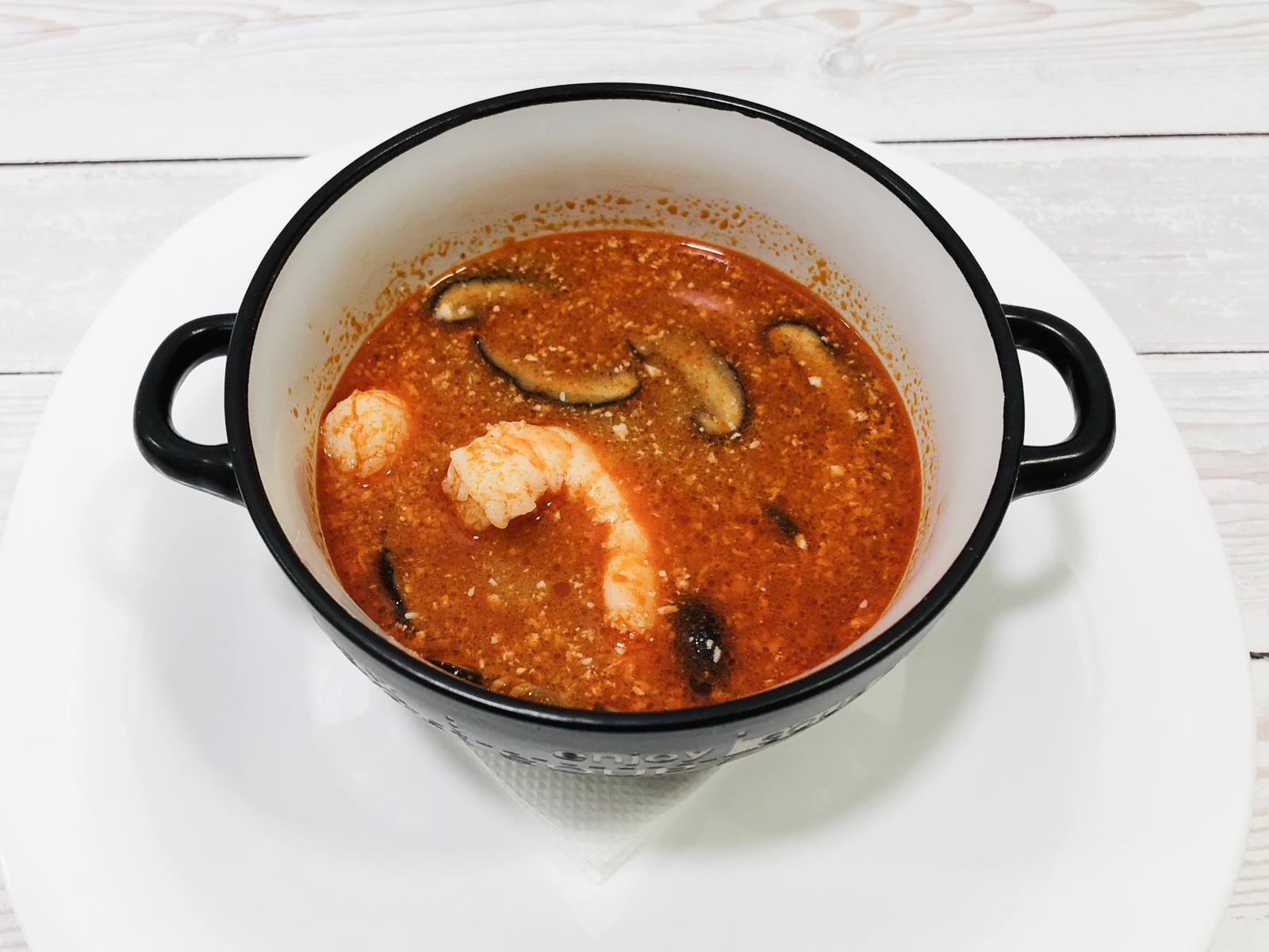 Острый суп Том-ям