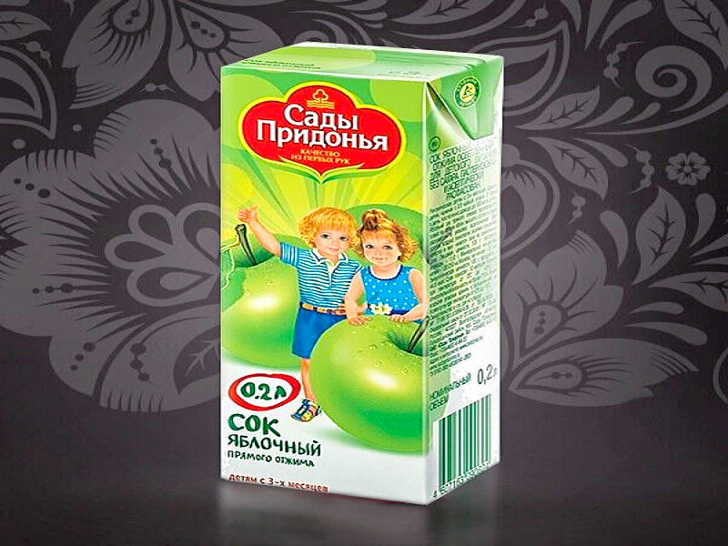 Сок яблочный Сады Придонья