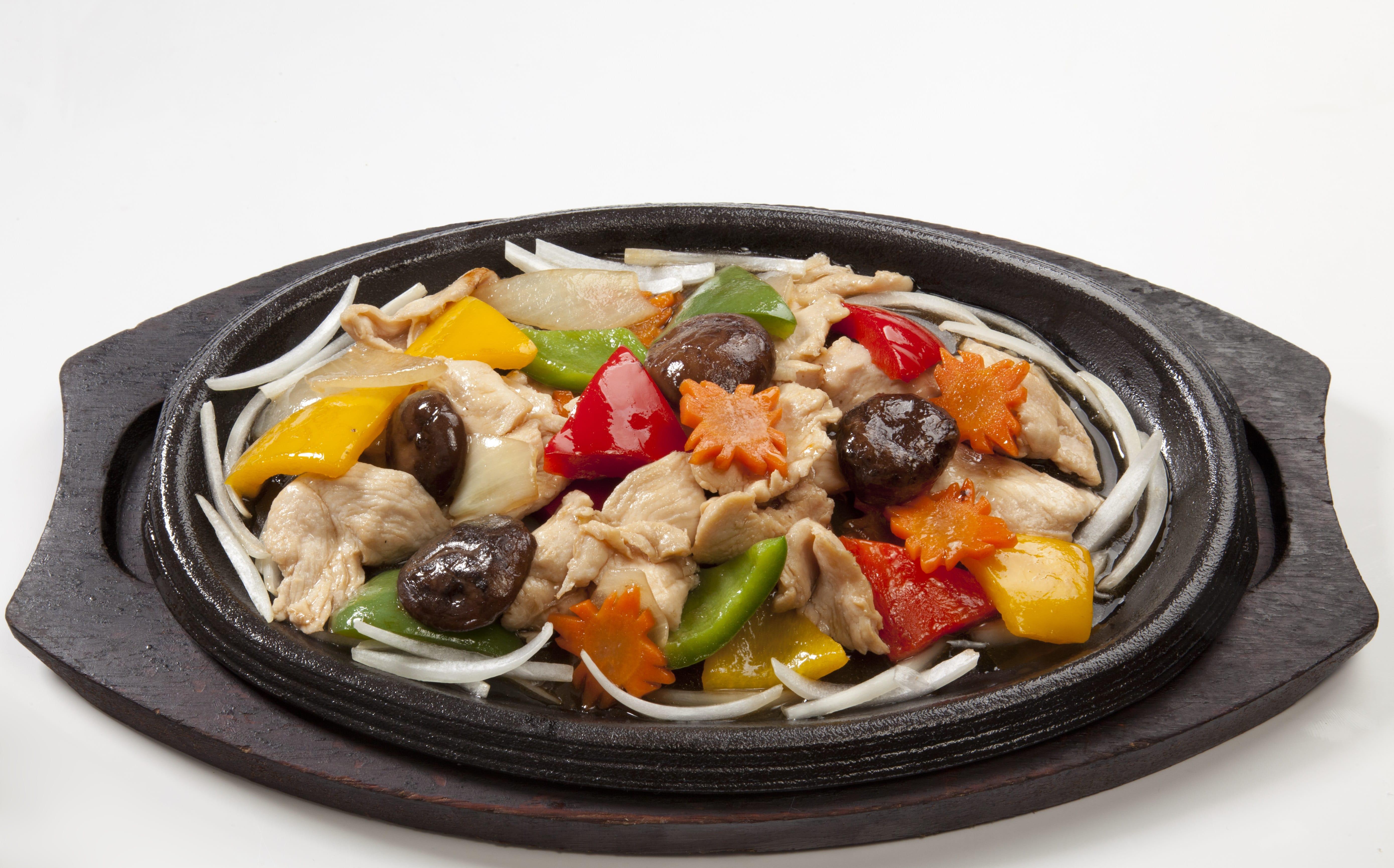 Куриное филе с овощами Кай Тепан