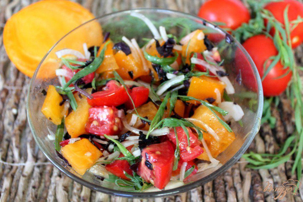 Тёплый салат по-аджарски