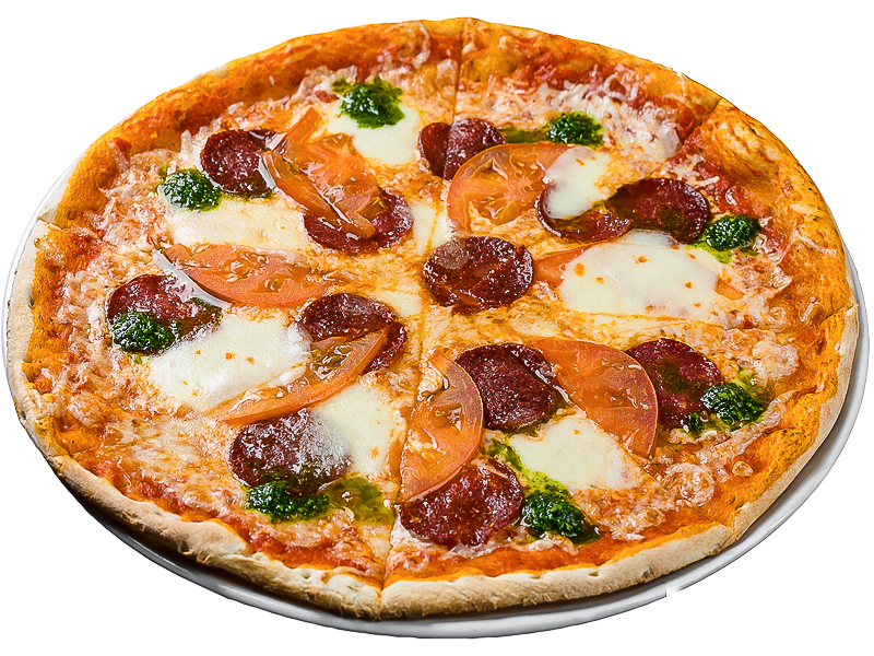 Пицца Пепперони люкс