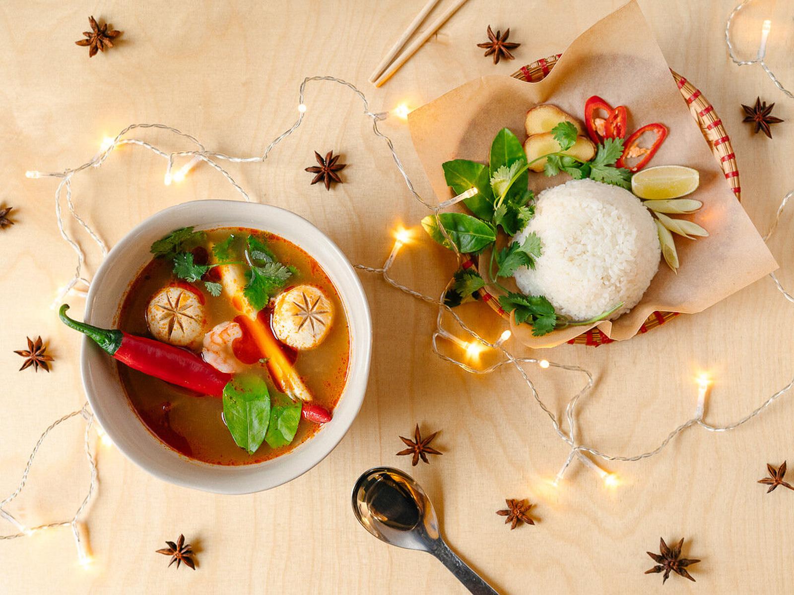 Суп Том-ям по-вьетнамски