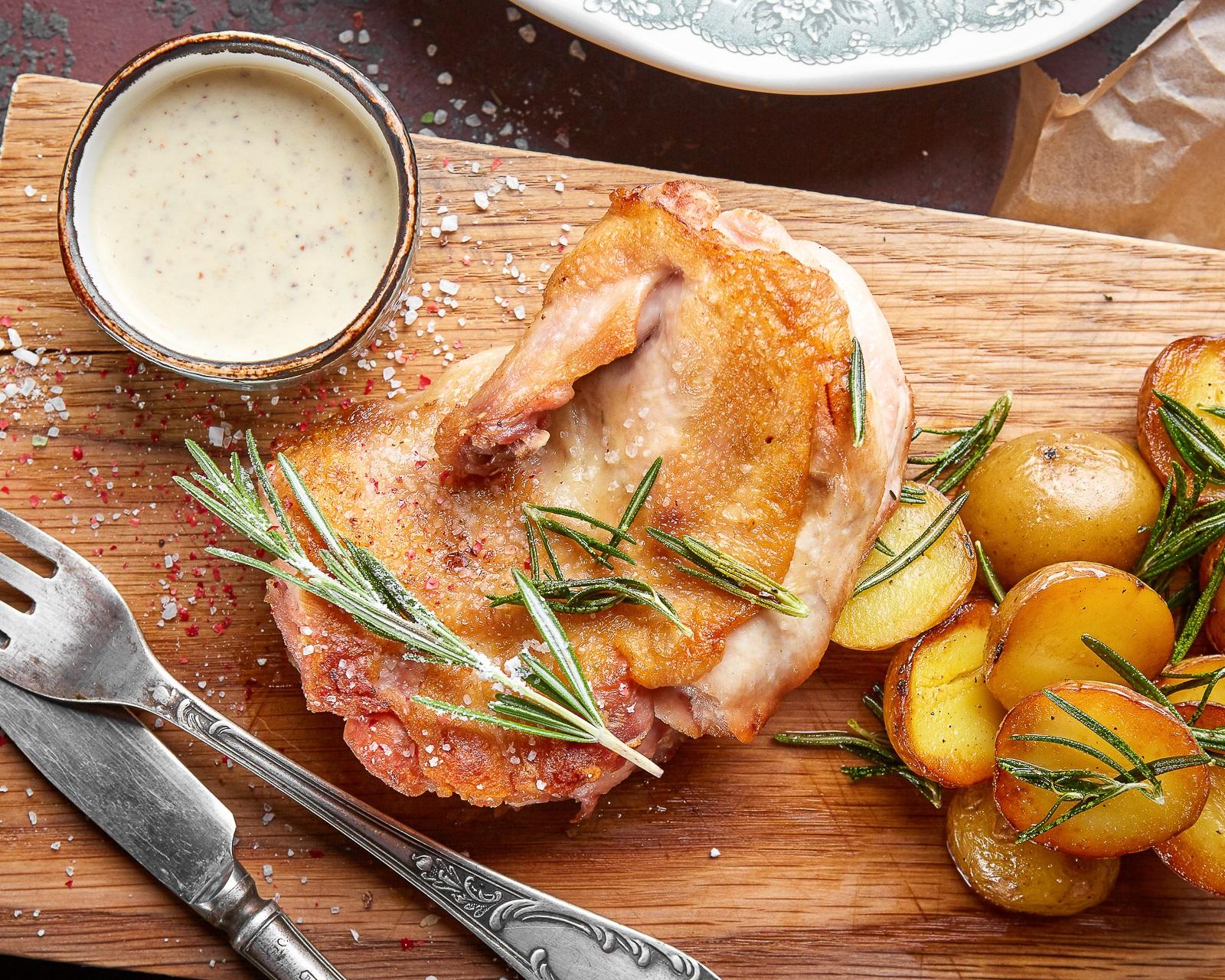 Цыплёнок с хрустящей корочкой