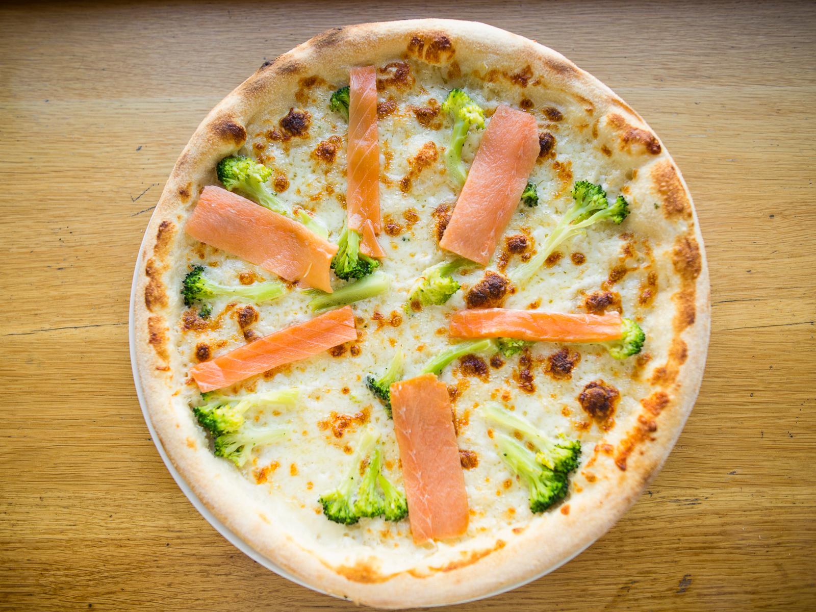 Пицца Копченый лосось