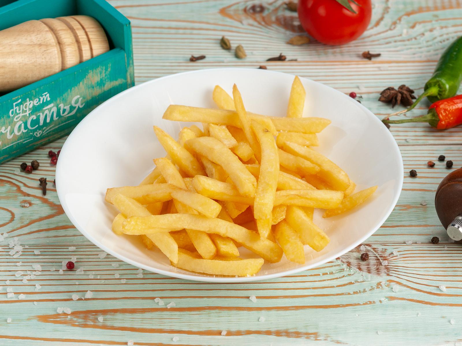 Картофель фри соломка