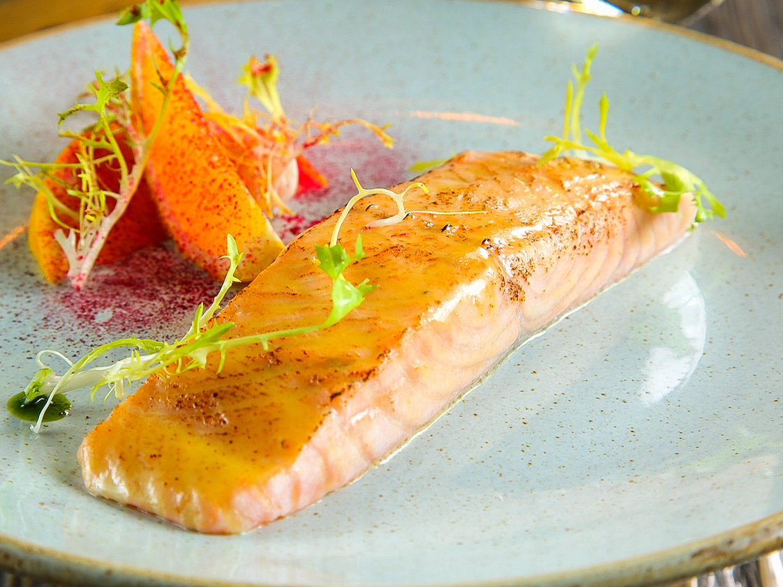 Стейк из чилийского лосося