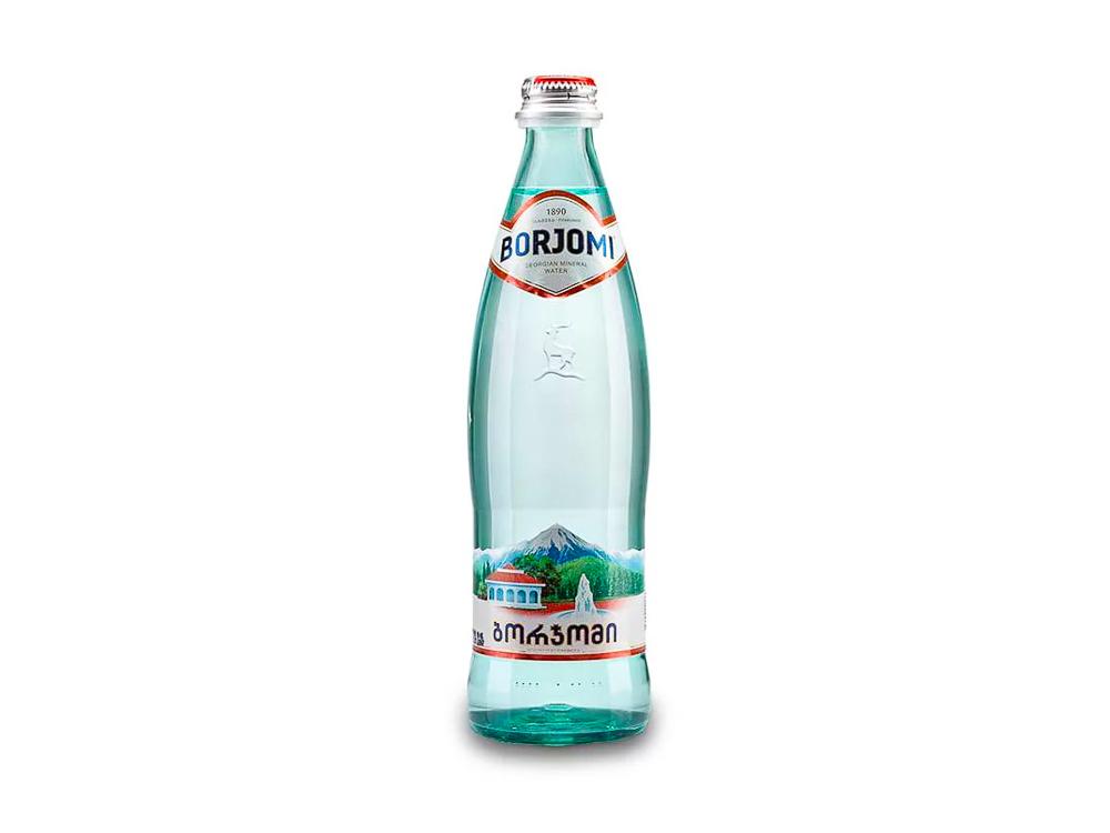 Вода Borjomi без газа