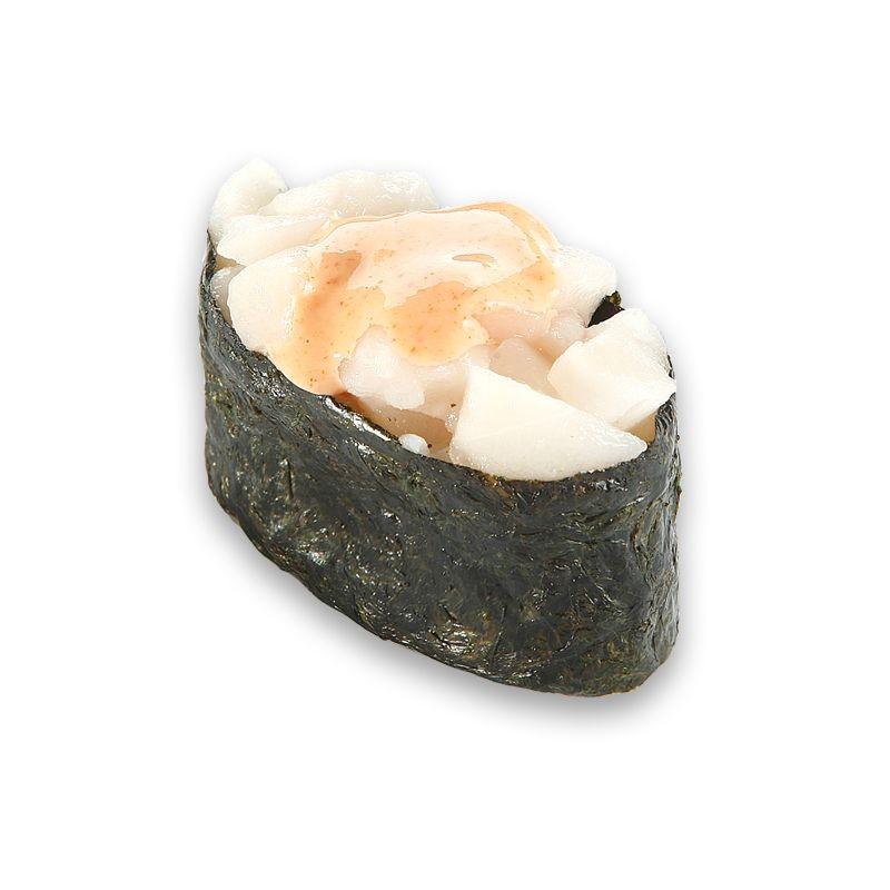 Гункан с острым белым тунцом