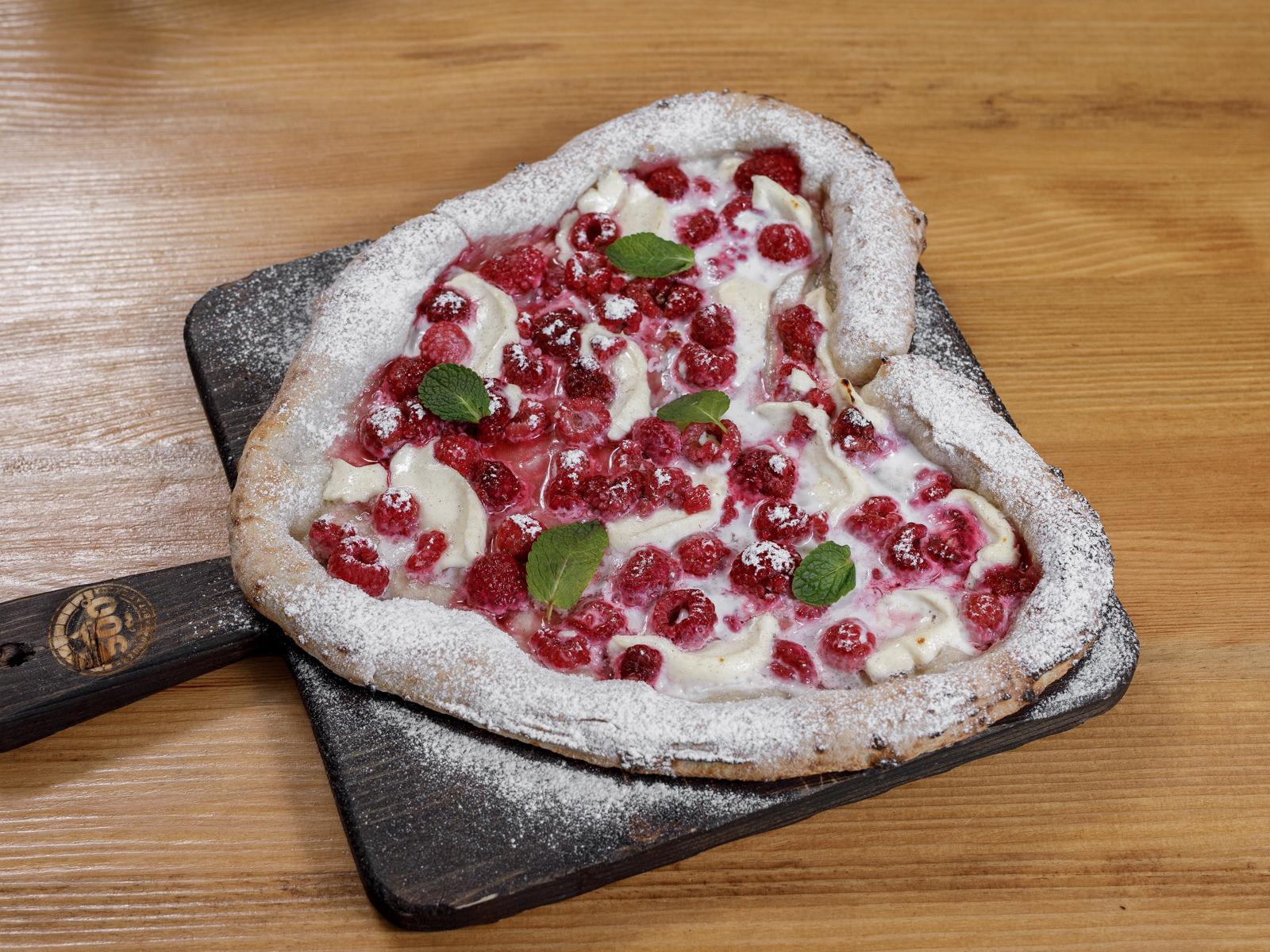 Пицца Малина - маскарпоне