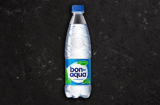 Вода Бон Аква газированная