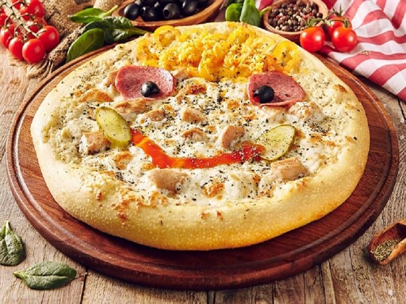 Пицца детская Солнышко