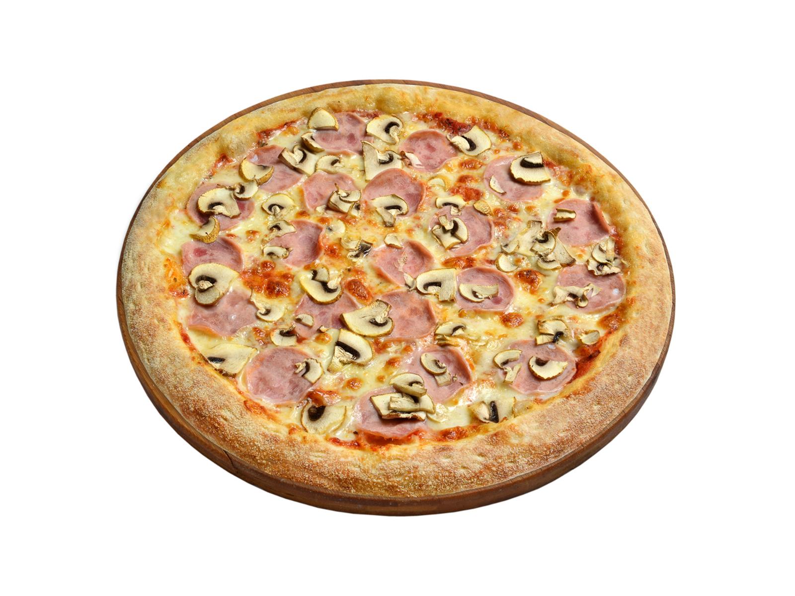 Пицца Ветчина-грибы