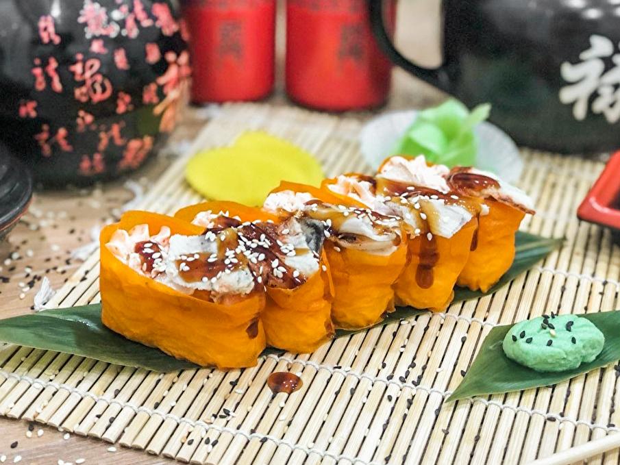 Сливочные суши маме унаги