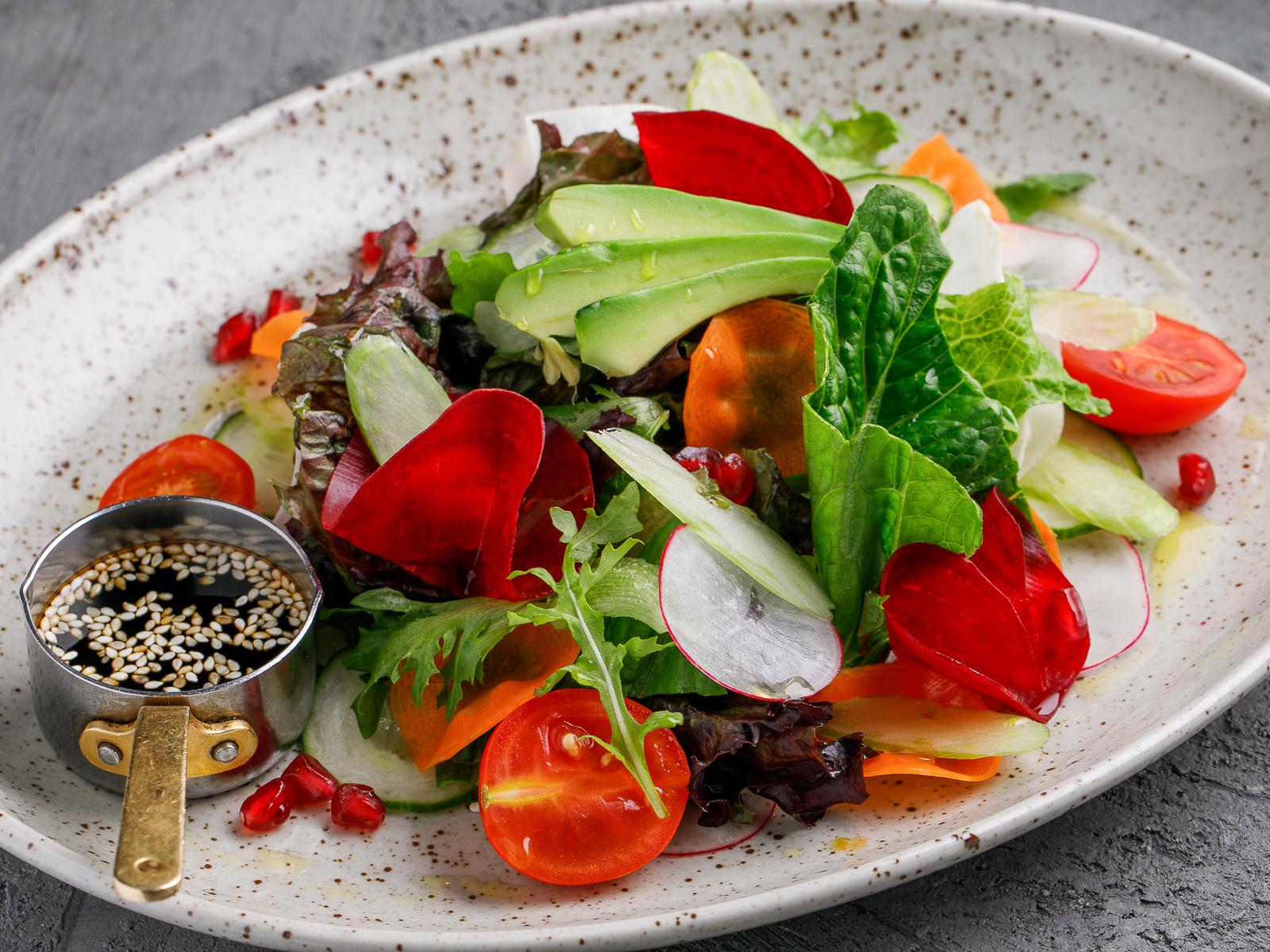 Салат Восемь овощей