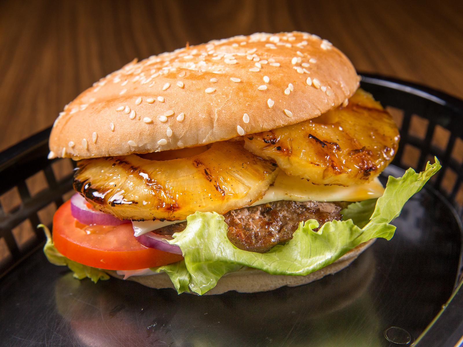 Гавайский бургер