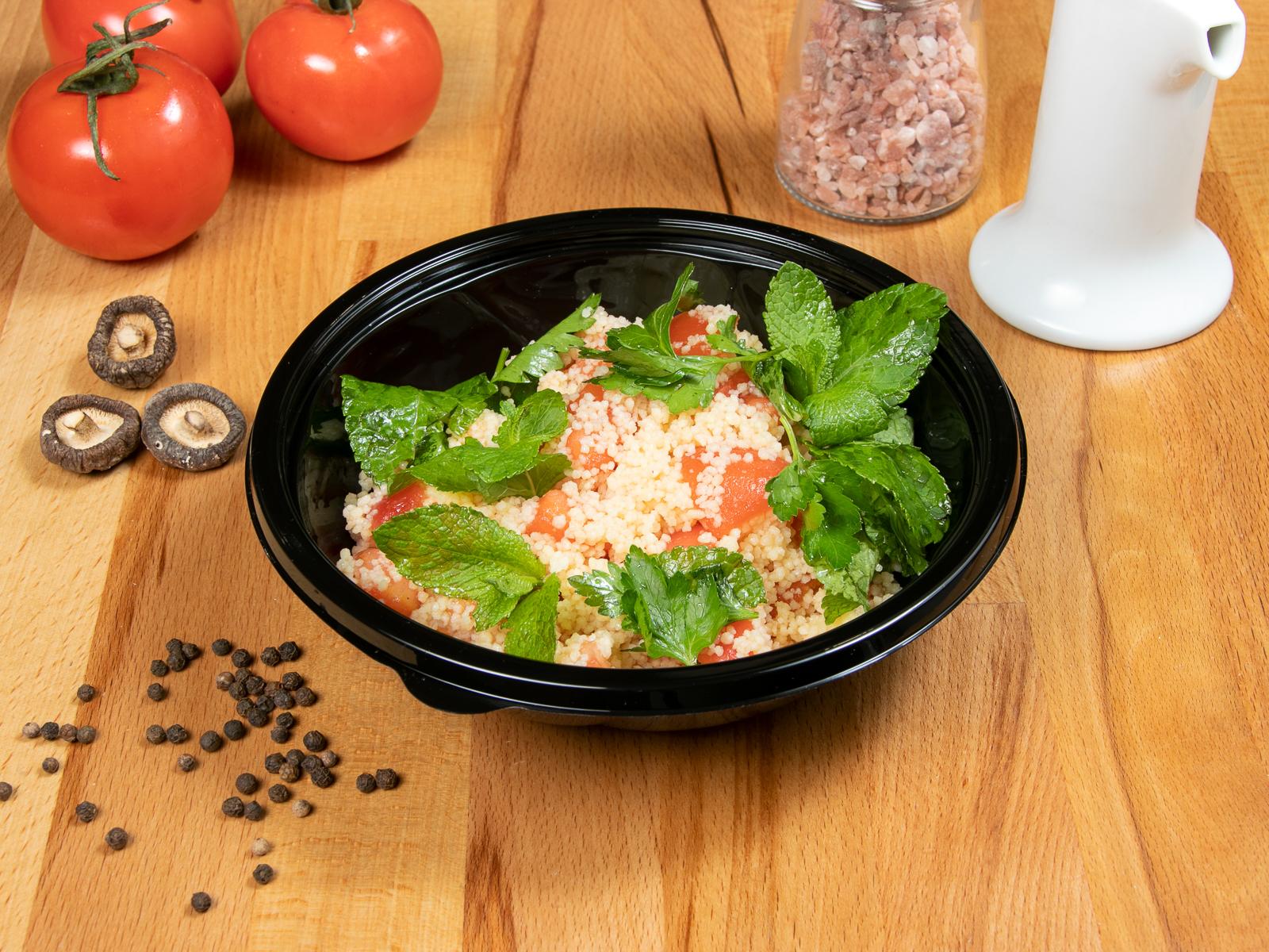 Салат мятный с кус-кусом