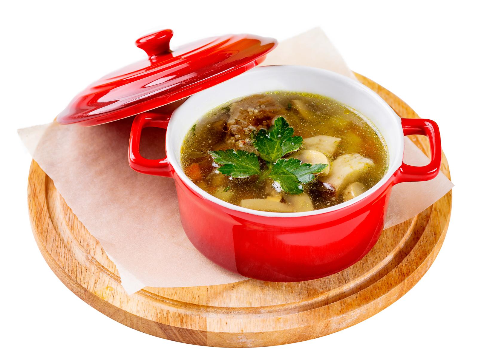 Грибной суп Форестер