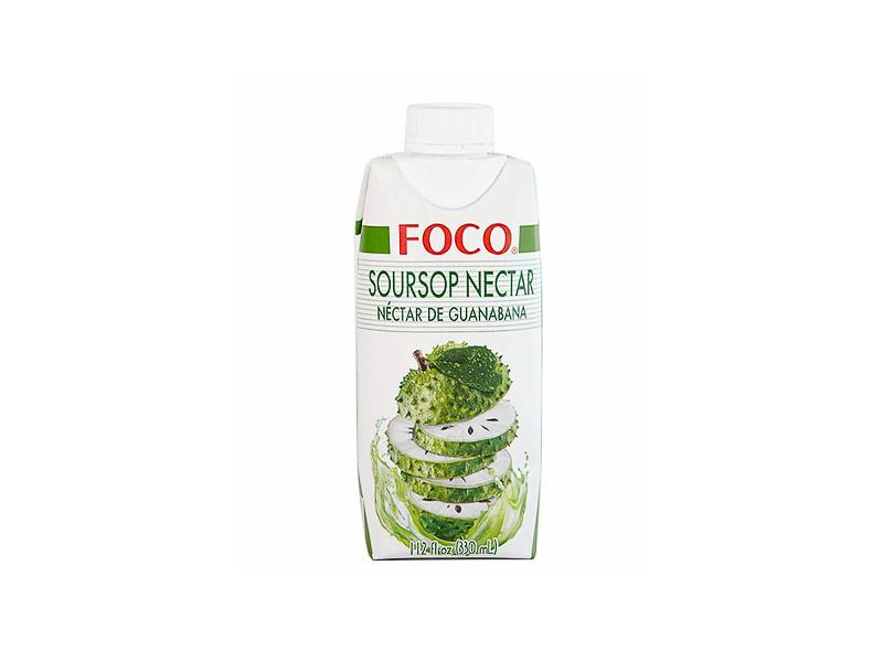 Натуральная кокосовая вода с нектаром гуанабаны