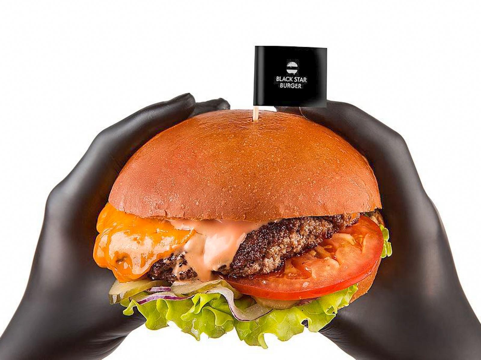 Бургер Классика двойной с индейкой (халяль)