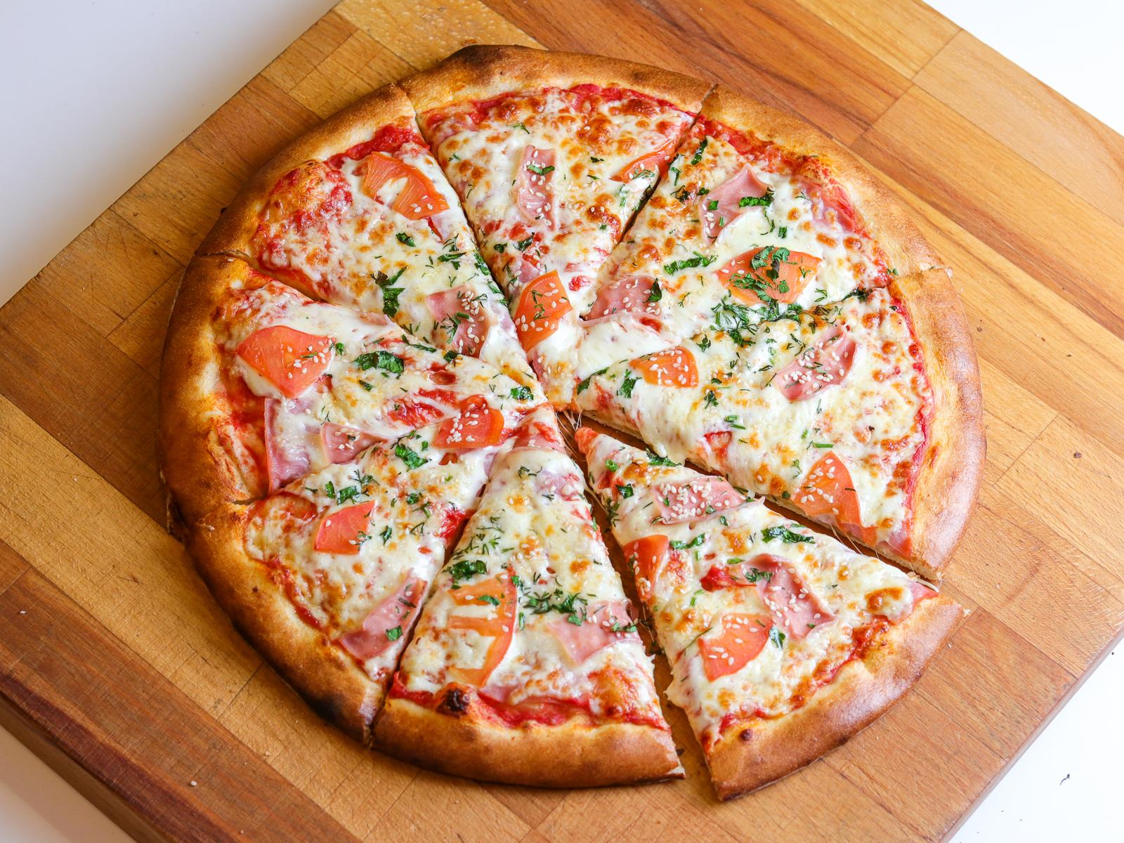 Пицца Турино на пышном тесте