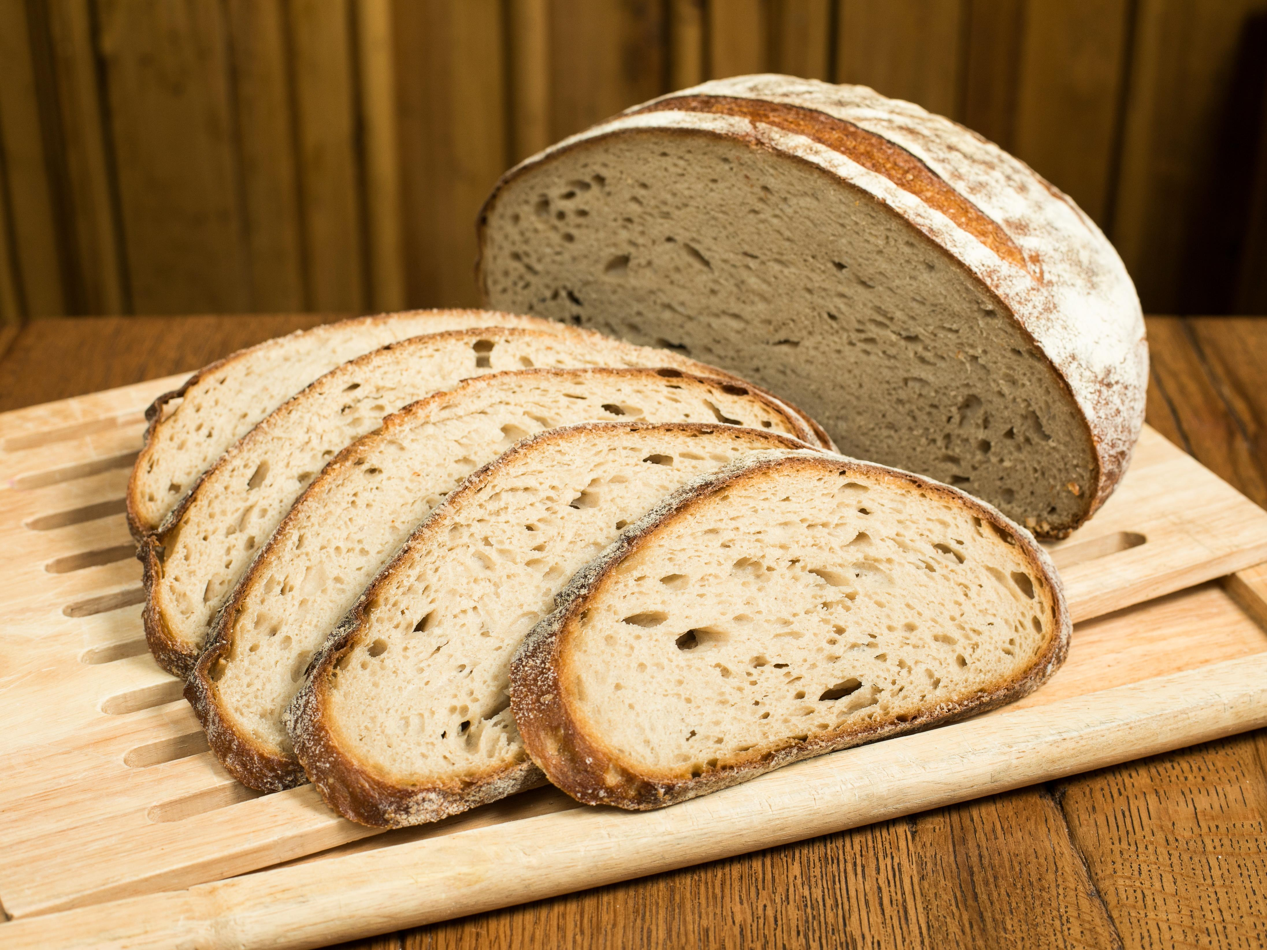 Порция пшеничного хлеба