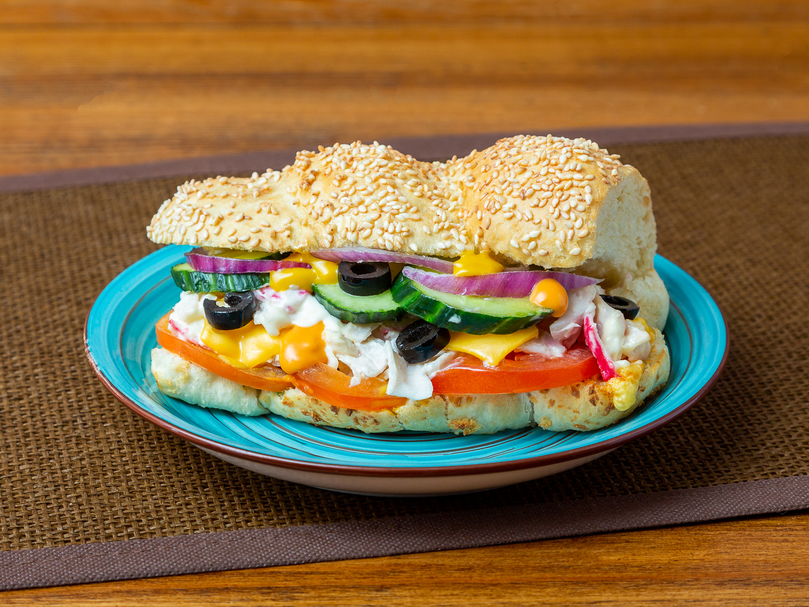 Сэндвич со снежным крабом
