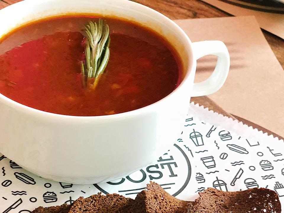 Суп Гуляш с разварной говядиной