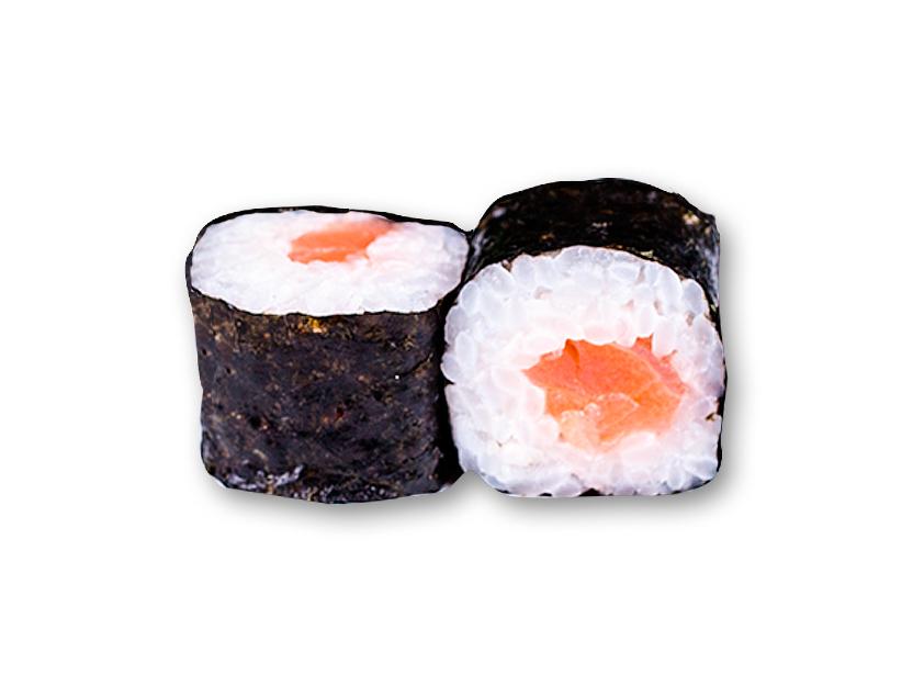 Ролл Хосомаки с копченым лососем