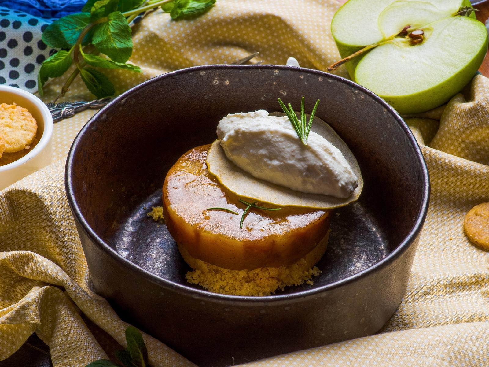 Неправильный яблочный пирог