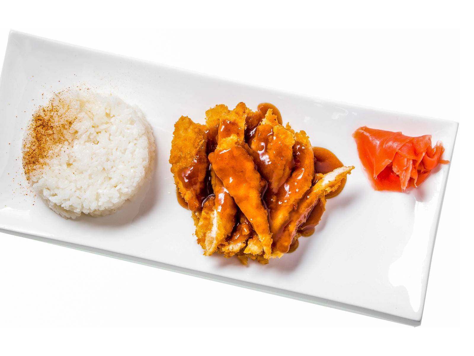 Куриное филе в рисовой панировке