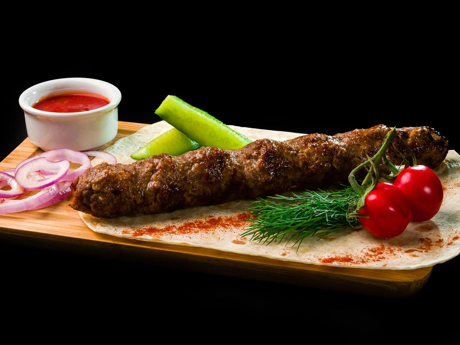 Люля-кебаб из телятины