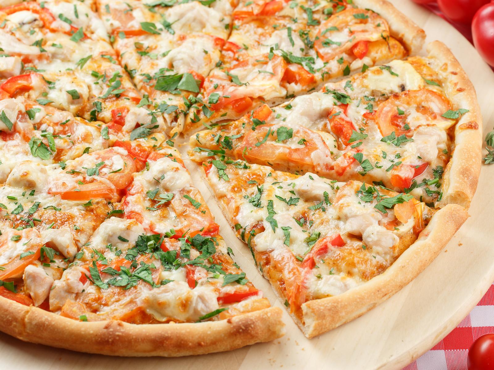 Пицца с индейкой