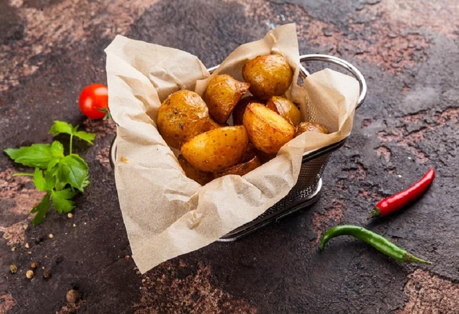 Картофель-бэби с прованскими травами