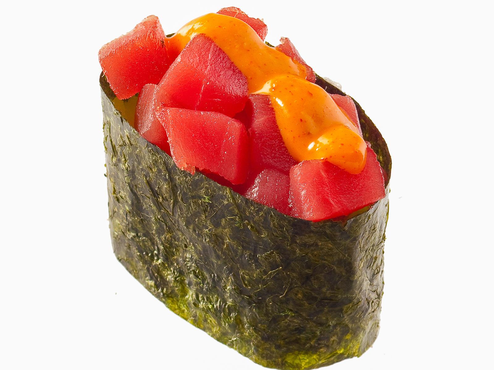Спайс-суши с тунцом
