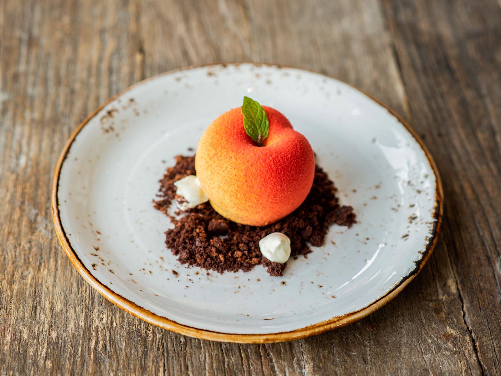 Десерт Персиковый мусс