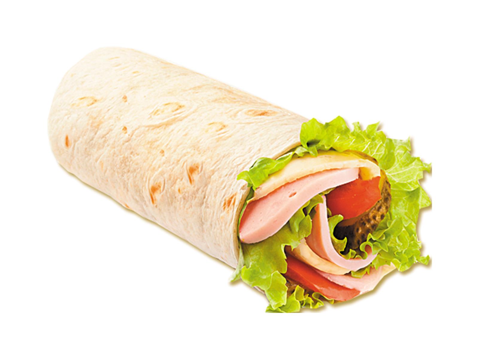 Сэндвич-ролл Ветчина и сыр