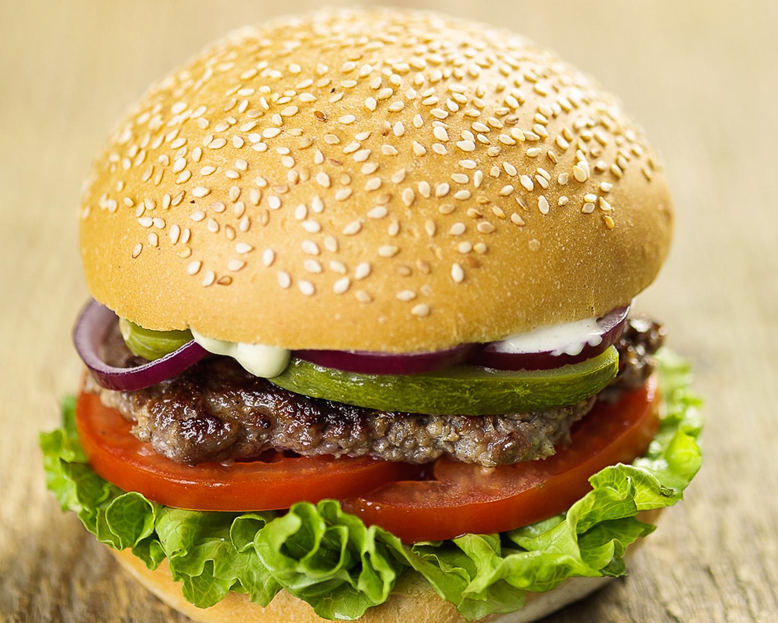 Франкбургер с котлетой из говядины