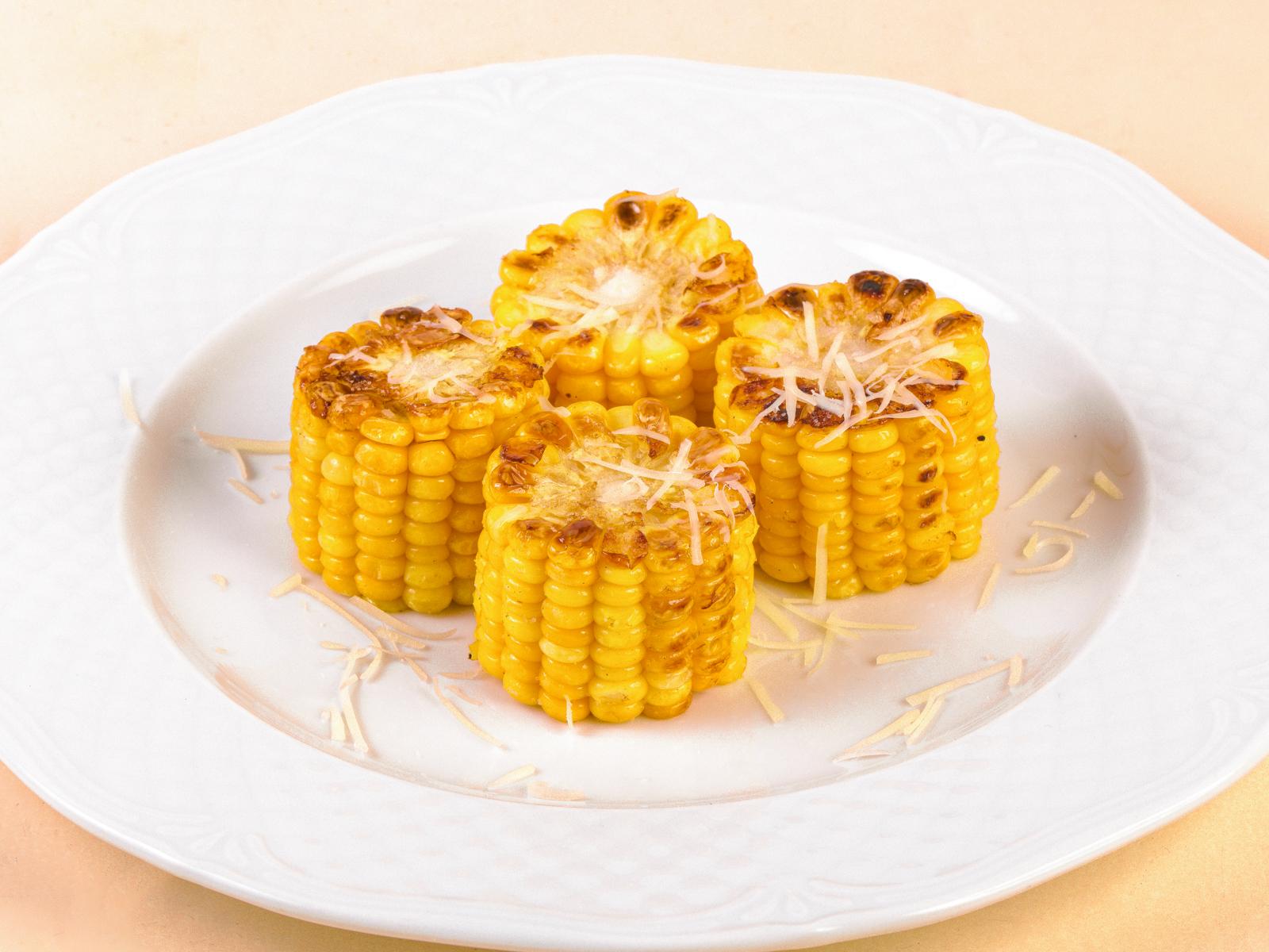 Кукуруза с пармезаном