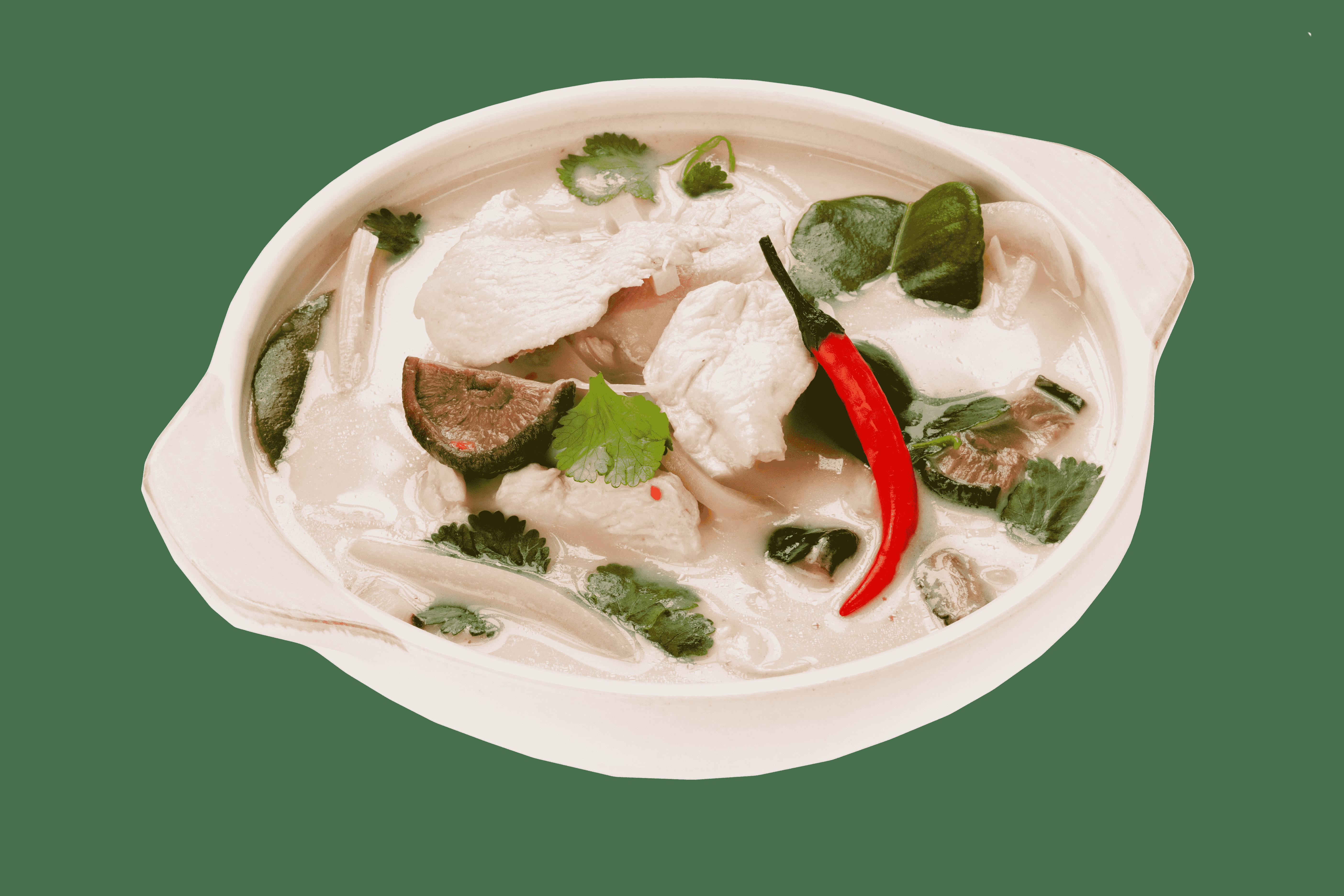 Куриный суп с кокосовым молоком Том ка кай