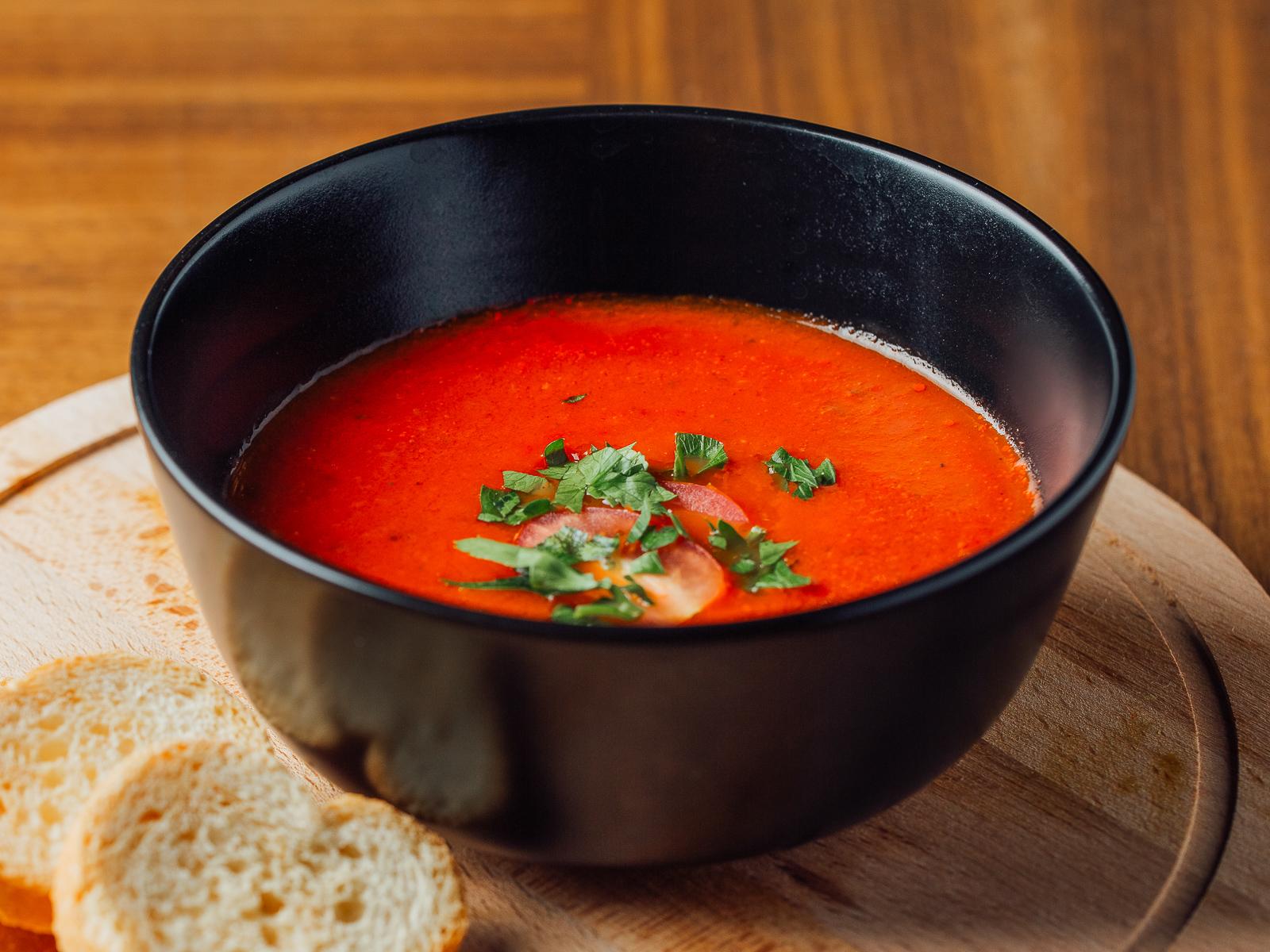 Помидорный крем-суп