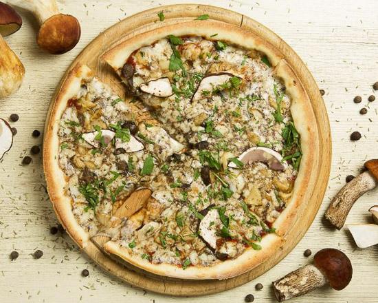Пицца Лесные грибы малая