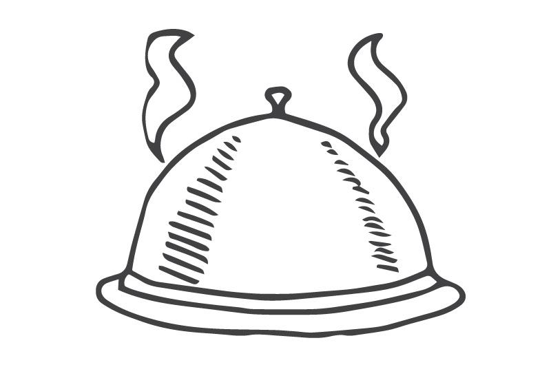 Говядина терияки с рисом Ланч