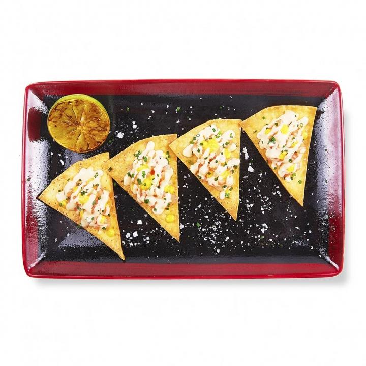 Тортилья с лососем