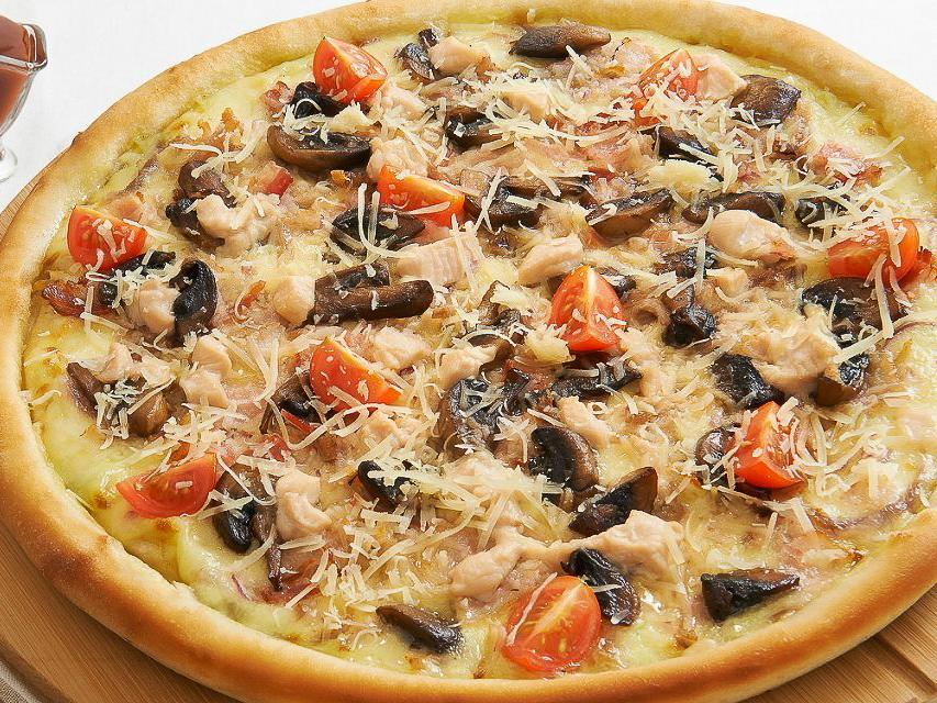 Пицца Цыпленок грибы