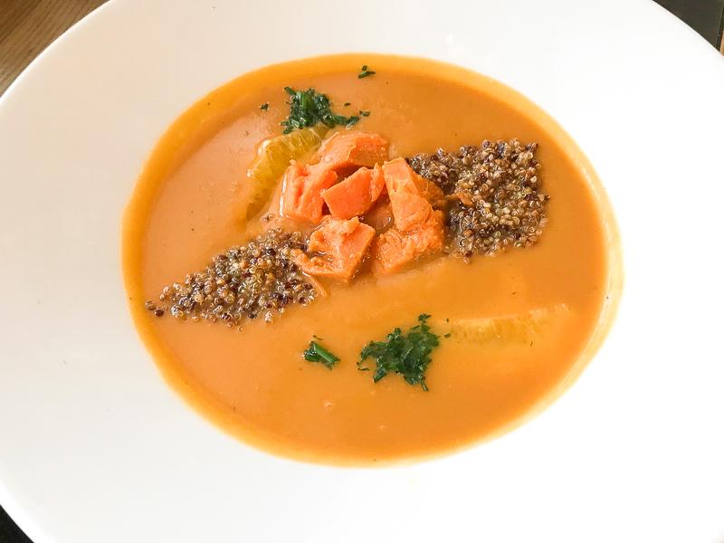 Суп из батата