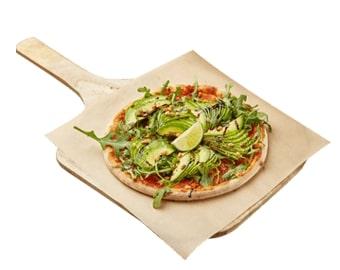 Пицца Верде с авокадо и рукколой